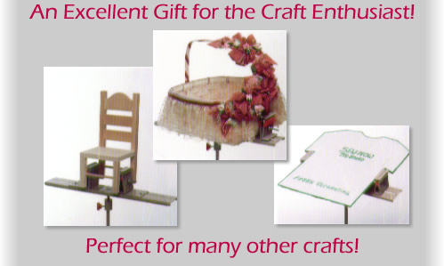An excellent gift for the craft enthusiast!  Perfect for many other crafts!